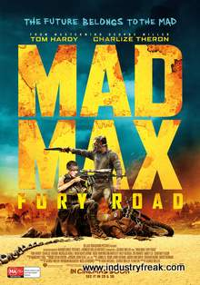 Mad Max: Fury Road ranks 2nd  in  the list of top Hollywood action movies.