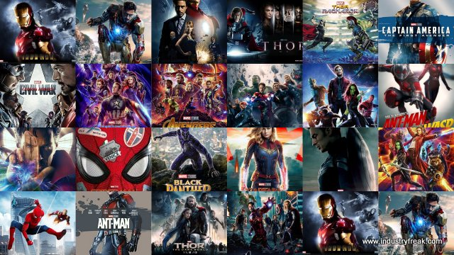 All Marvel Movies in MCU