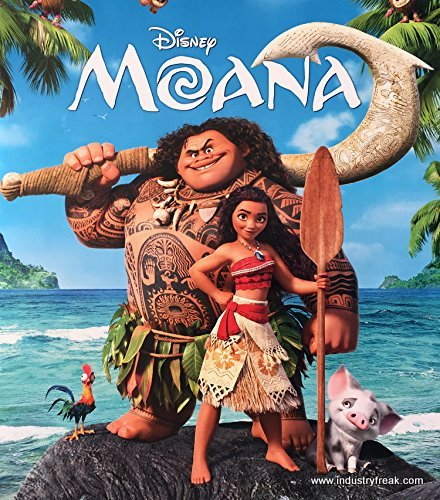 Moana best animated disney movie