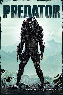 Predator ranks 13th in the list of top Hollywood action movies.