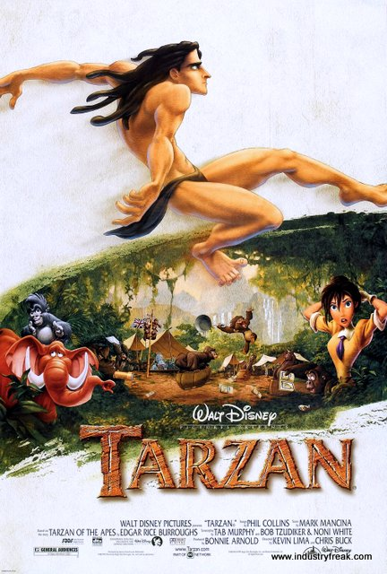 Tarzan is one of the most famous movie in disney animated movies.