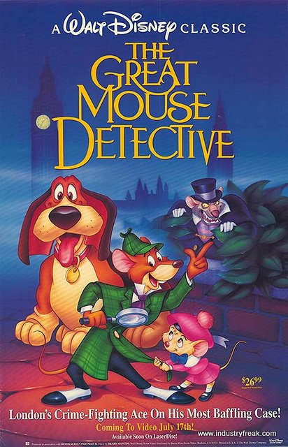 The Great Mouse Detective is one of the most loved animated movie by dsiney