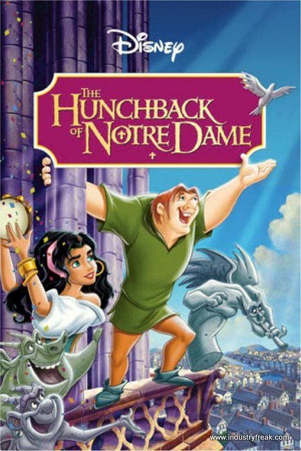 The Hunchback of Notre Dame is one of the most famous movie in disney animated movies.