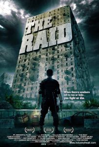 The Raid ranks 17th in the list of top Hollywood action movies.