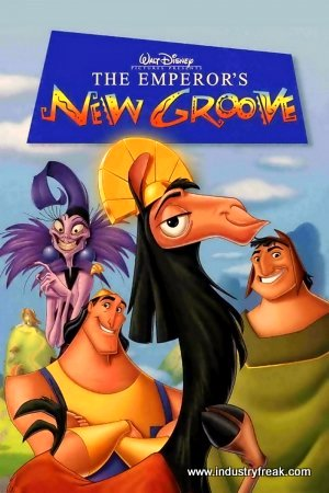 The Emperor's New Groove animated walt disney movie