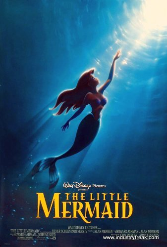 The little Mermaid top disney Animated Movie