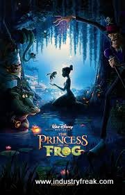 The The Princess and The Frog animated walt disney movie