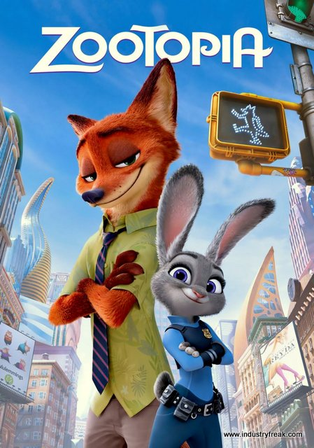 zootopia is one of the best disney animated movie