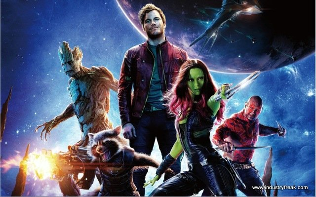 Guardians Of The Galaxy the marvel movie