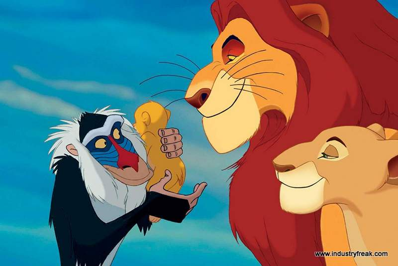 the lion king is 17th on the list of most popular animated movies.
