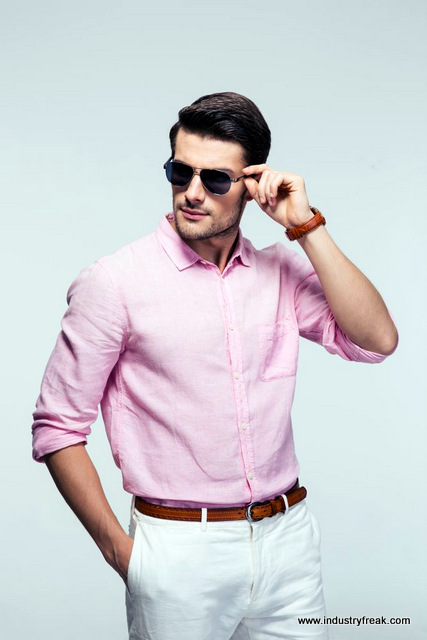Tip 15 for mens fashion trends - No need to fear pink
