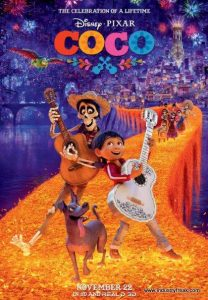 Coco is 2nd on the list of most popular animated movies.