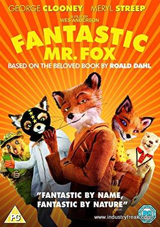 Fantastic Mr. Fox is 28th on the list of most popular animated movies.