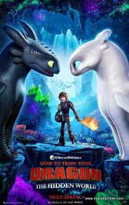 How to Train Your Dragon is 13th on the list of most popular animated movies.
