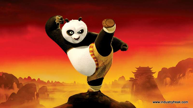 Kung Fu Panda is 22nd on the list of most popular animated movies.