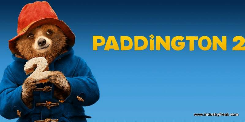 Paddington 2 is 3rd on the list of most popular animated movies.