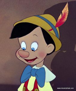 Pinocchio is 11th on the list of most popular animated movies.