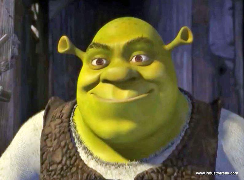 Shrek is 15th on the list of most popular animated movies.