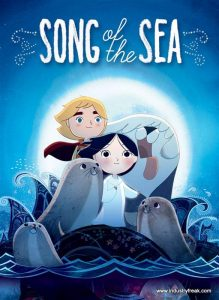 Song of the Sea is 19th on the list of most popular animated movies.