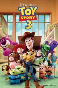 Toy Story 3 is 7th on the list of most popular animated movies.