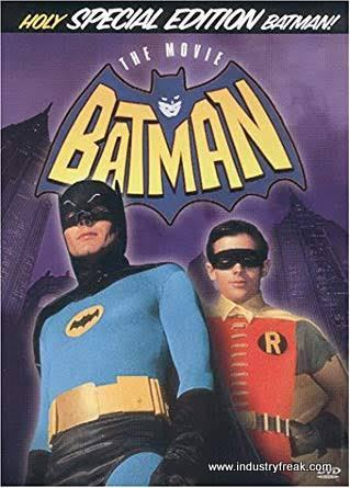 BATMAN: THE MOVIE (1966) is 2nd on DC Movies in order