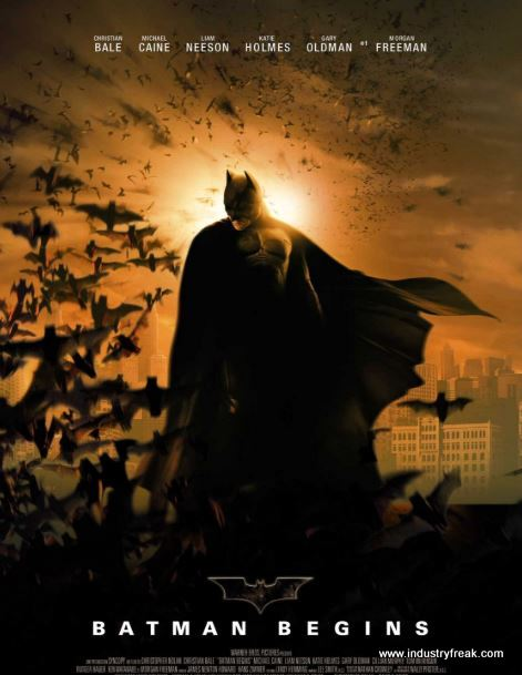 Batman Begins (2005) by DC Movies