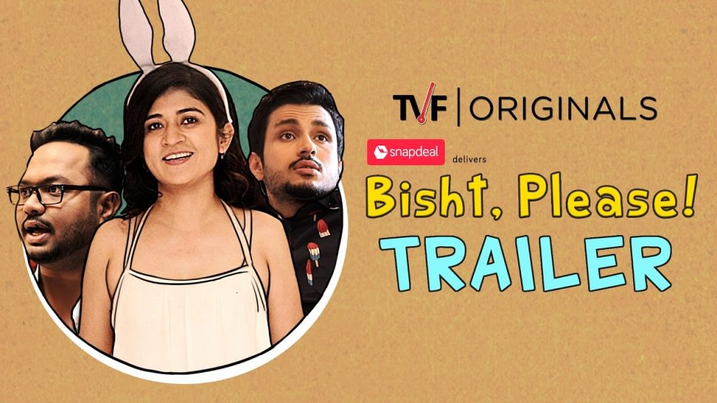 Bisht Please ranks no. 7 in the top 10 tvf series list.