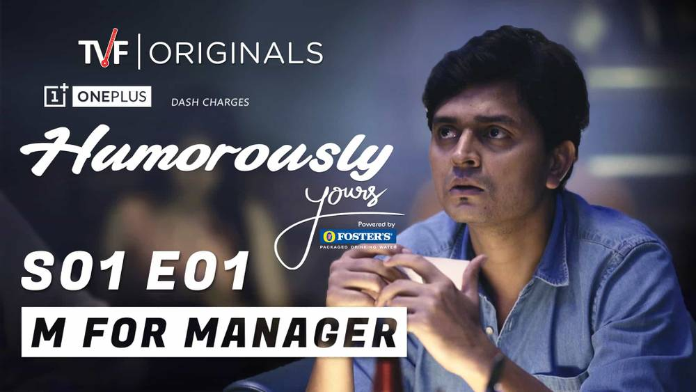 humorously yours tvf series