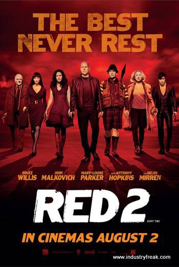 Red 2 (2013) by DC Movies