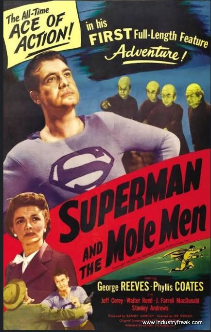 Superman and Mole Man (1951) by DC Comics Movies