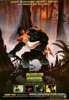 Swamp Thing (1982) is 7th on DC Movies in order