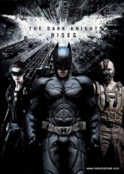 The Dark Knight Rises (2012) by DC films