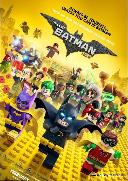 The Lego Batman Movie (2017) is a DC animated movie