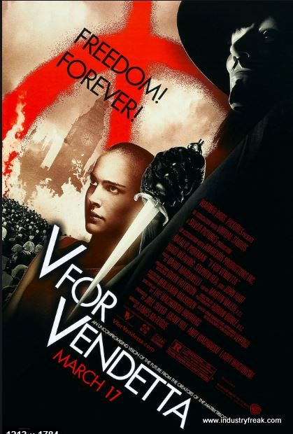 V for Vendetta (2005) by DC films