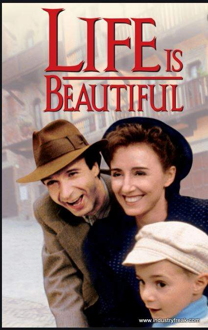 Life is Beautiful ranks 2nd on the list of the top 31 war movies.