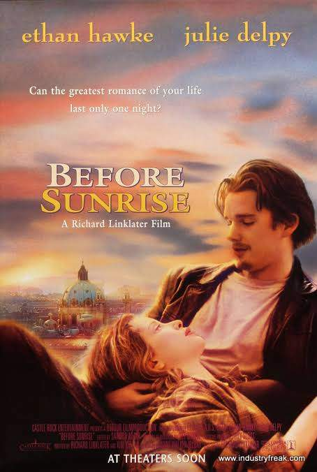Before Sunrise ranks number 2 on the list of best travel movies