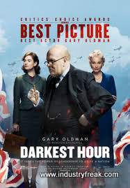 Darkest Hour ranks 27th on the list of the top 31 war movies.