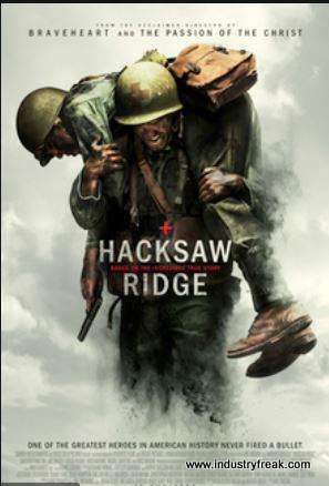 Hacksaw Ridge ranks 18th on the list of the top 31 war movies.