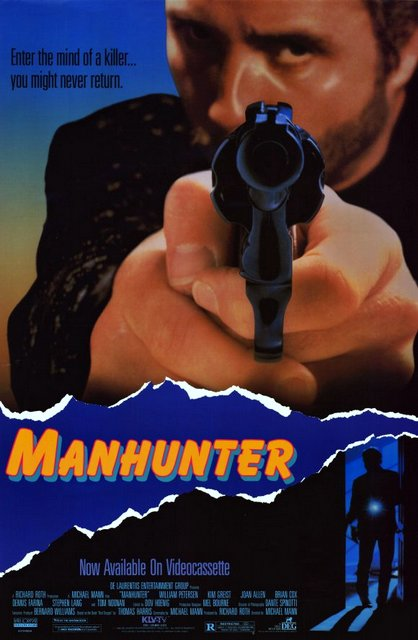 Manhunter is the top mystery and thriller movie