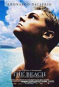 The Beach ranks number 30 on the list of best travel movies