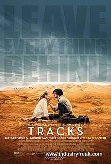 Tracks ranks number 21 on the list of best travel movies