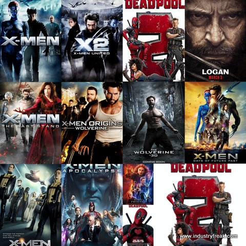 All X men movies in order to watch pictures
