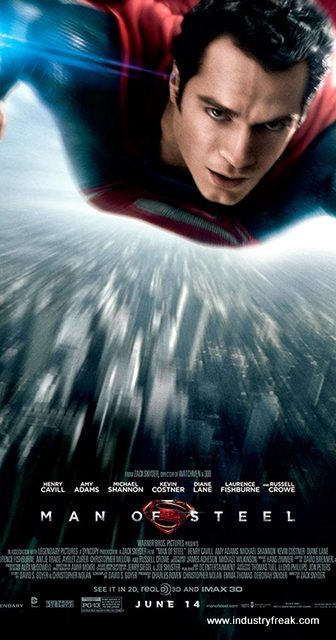 Superman - Man of Steel. Best among superman movies list