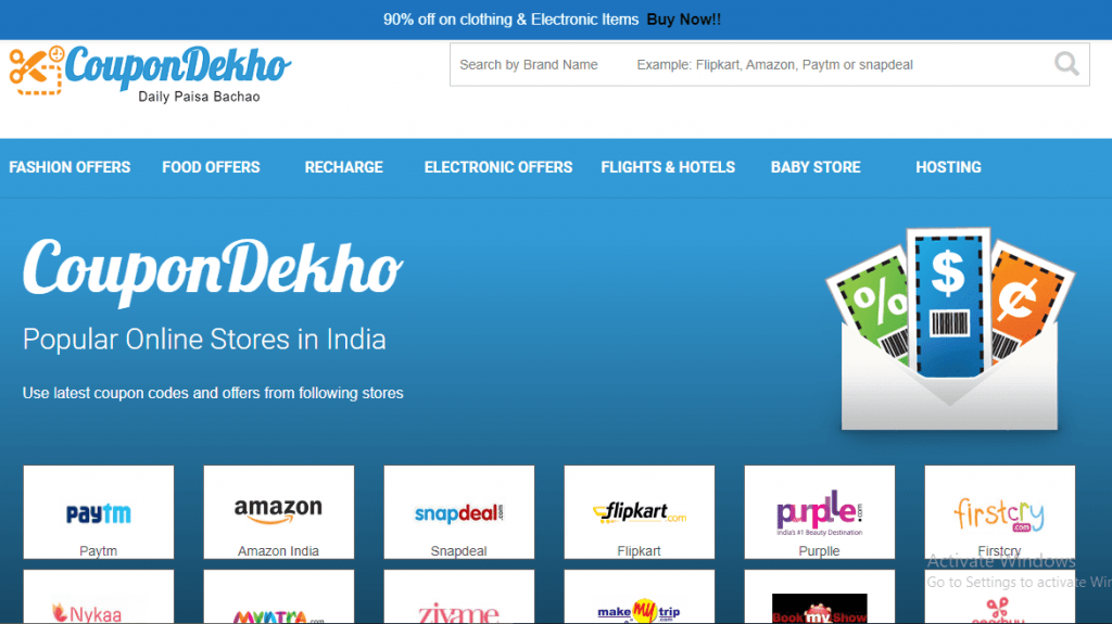 Coupondekho best coupons in india